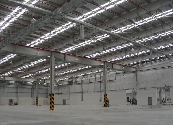 Thi công nhà xưởng nạp chiết ga BÌnh Thuận 1